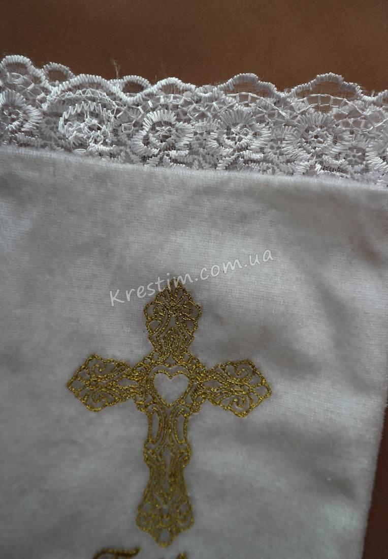 Мешочек для первого локона с вышивкой - Фото 1