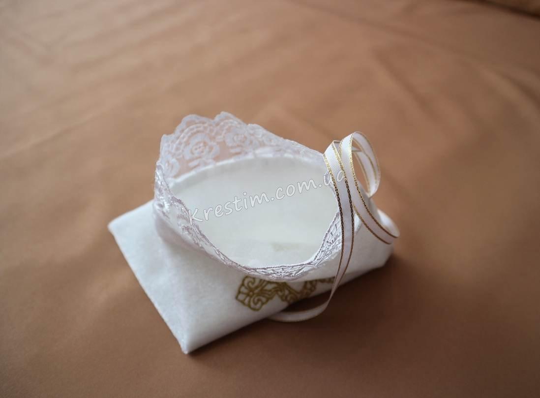 Мешочек для первого локона с вышивкой - Фото 2