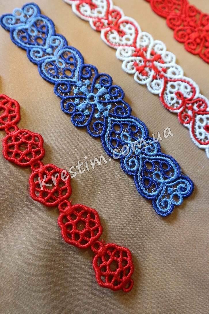 Вышитые браслеты из шелковых ниток - Фото 3