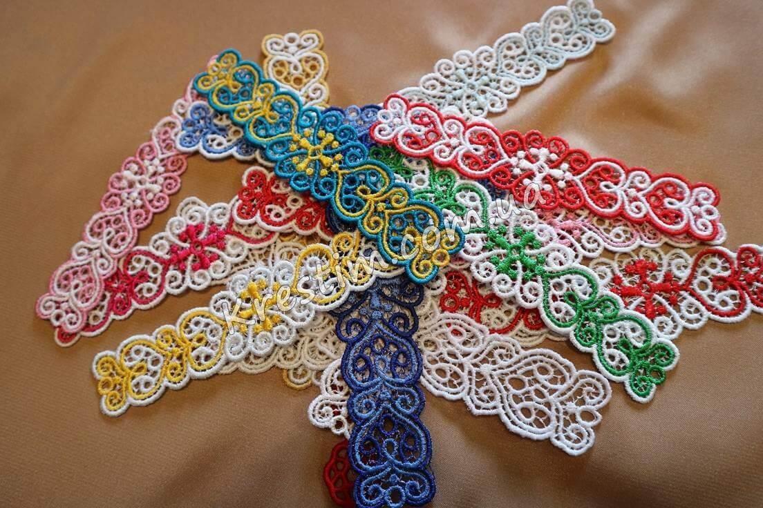 Вышитые браслеты из шелковых ниток - Фото 6