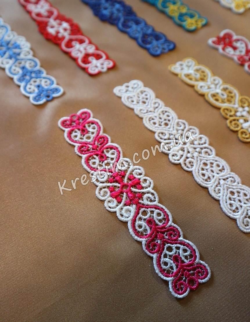 Вышитые браслеты из шелковых ниток - Фото 1
