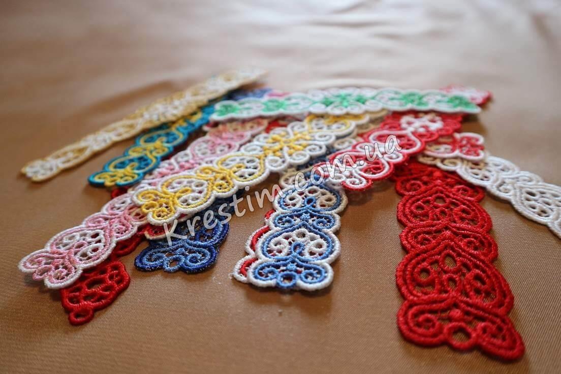 Вышитые браслеты из шелковых ниток - Фото 4