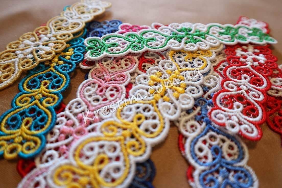 Вышитые браслеты из шелковых ниток - Фото 5
