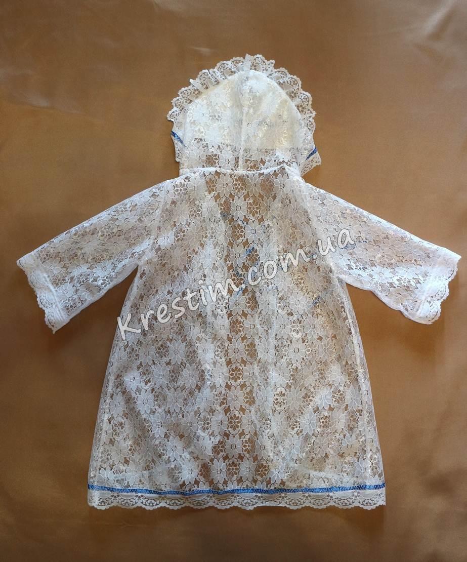 Крестильная рубашка с вышивкой - Фото 6