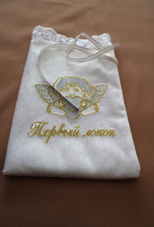 Мешочек для волос с ангелком