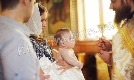 Прикмети хрещення дитини