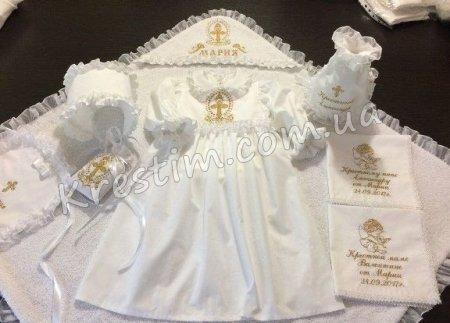 Підготовка хрестильного набору для дівчинки