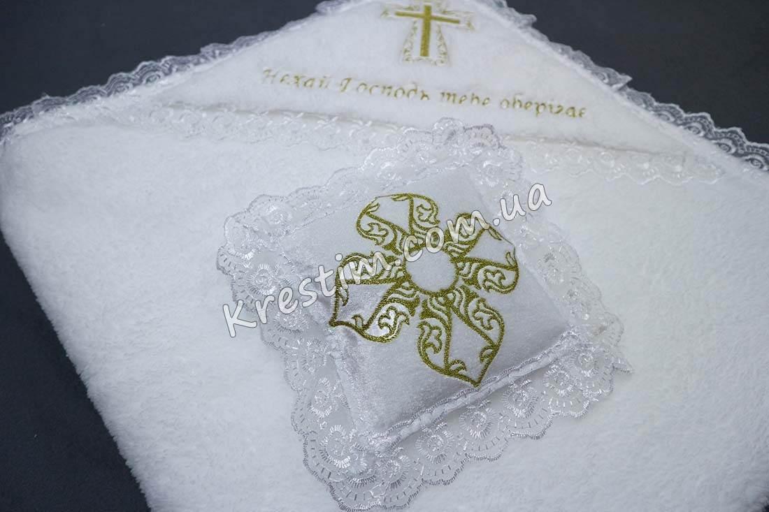 Крестильная подушечка для крестика - Фото 6