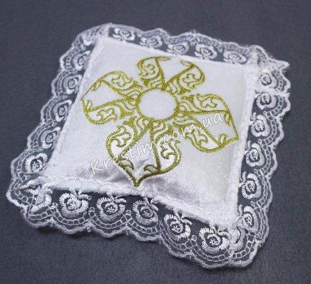 Крестильная подушечка для крестика