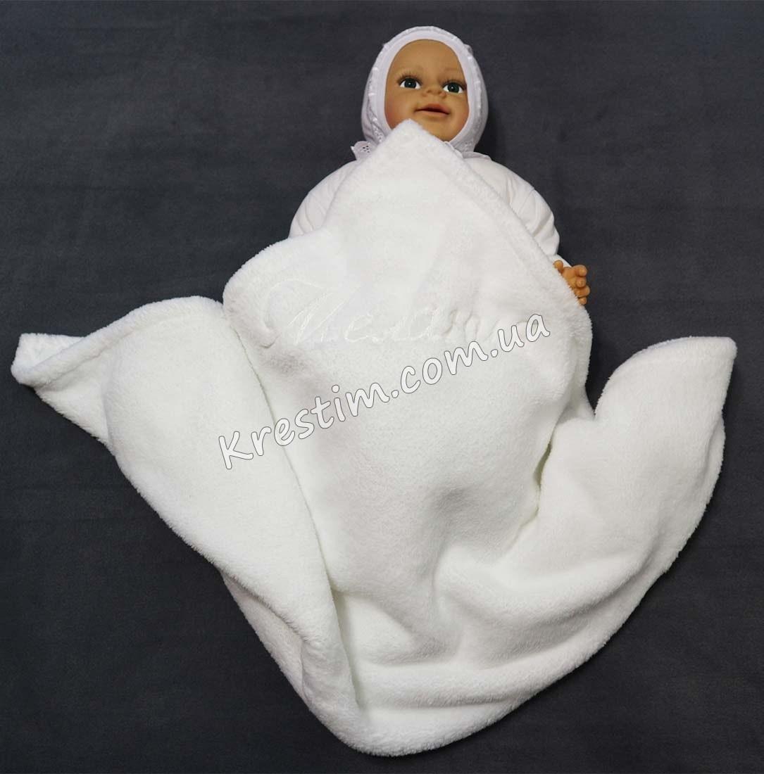Одеяльце с любой вышивкой - Фото 1