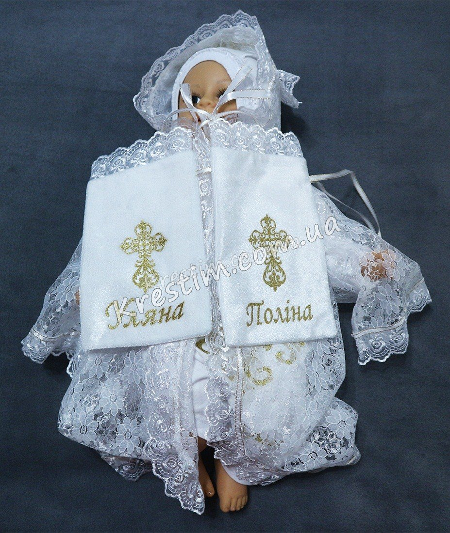 Крестильный мешочек для локона с любой вышивкой - Фото 4