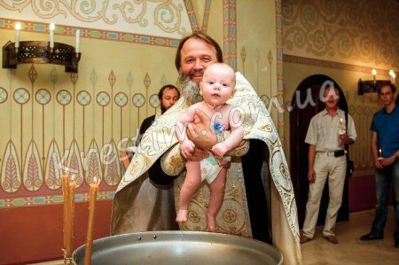 Хрещення новонароджених до 40 днів