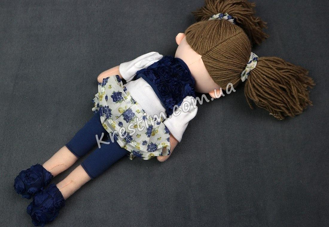 Высокая кукла с именной вышивкой - Фото 6