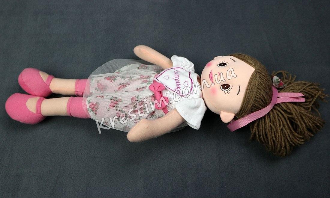 Высокая кукла с именной вышивкой - Фото 2