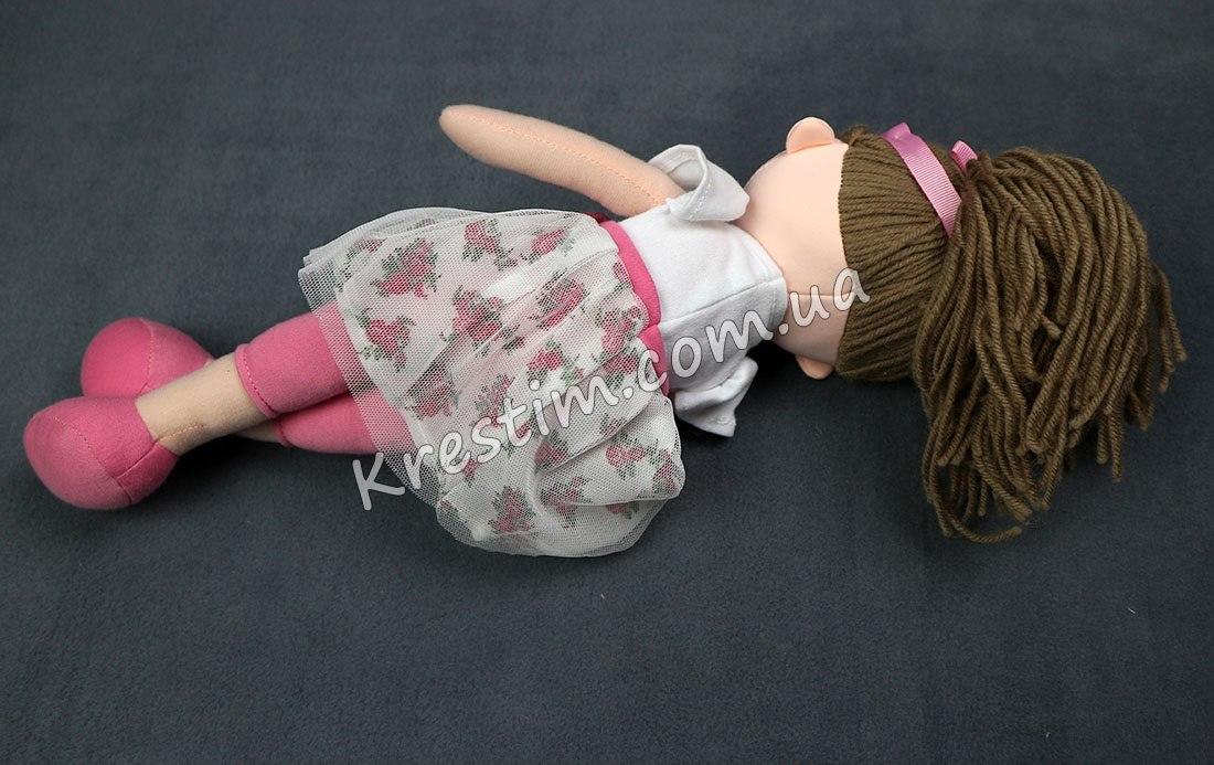 Высокая кукла с именной вышивкой - Фото 3