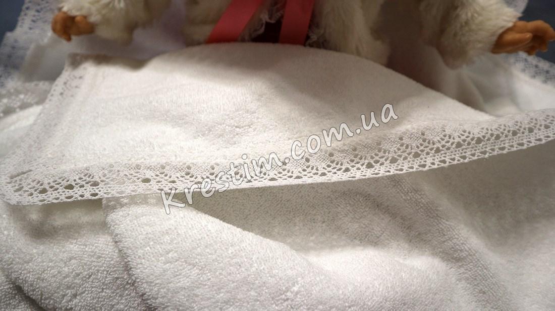 Крыжма из толстой натуральной махровой ткани - Фото 3