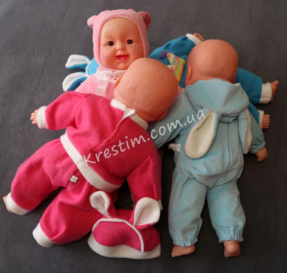 Именная мягкая игрушка с твердым лицом, ручками и ножками - Фото 4